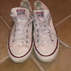 White Converse All Star Sneakers 40 Women 9 Men 7